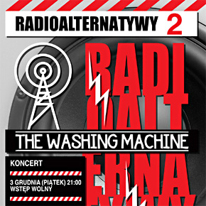 The Washing Machine zagra w Radio Łódź