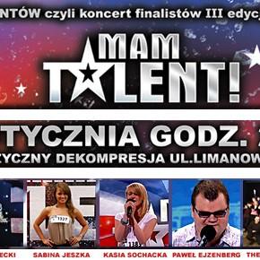 "Koncert finalistów programu ""Mam Talent"" w Łodzi"