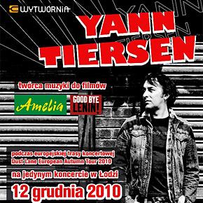 Zaproszenia na koncert Yanna Tiersena w Łodzi!
