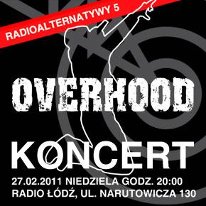 Overhood zagra w Radio Łódź