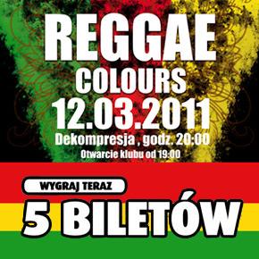 Wygraj zaproszenia na Reggae Colours