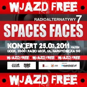 Spaces Faces zagrają w Radio Łódź