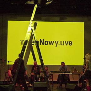 terenNowy.live montuje w Zamku Ujazdowskim