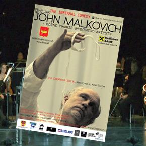John Malkovich w Łodzi