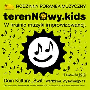 terenNowy.kids czyli dzieci w krainie muzyki improwizowanej