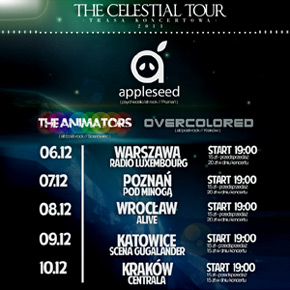 Appleseed Celestial Tour