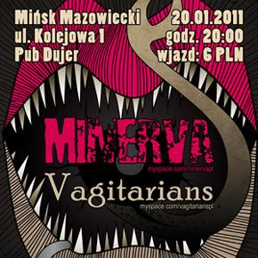 Minerva i Vagitarians w Mińsku Mazowieckim!