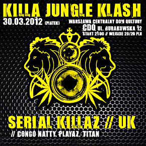 Killa Jungle Klash w CDQ