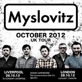 Sjón zagra support dla Myslovitz w Londynie i Liverpoolu