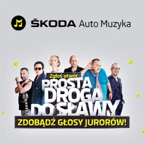 ŠKODA Auto Muzyka - Twoja lista samochodowych przebojów