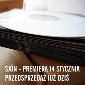 Sjón - Nojs EP już w przedsprzedaży!