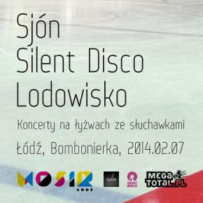 Pierwsze takie koncerty w Polsce: Sjón - Silent Disco - lodowisko