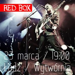 Red Box zagra w Łodzi. KONKURS!