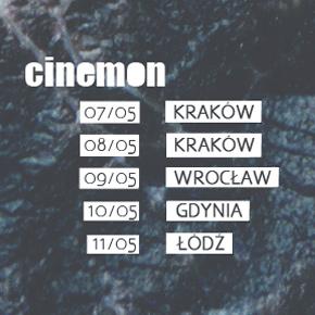 Cinemon rusza w trasę Raw Pop