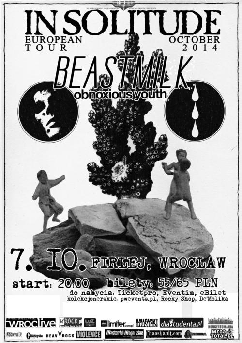 Beastmilk i In Solitude w Firleju!
