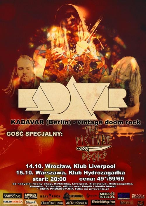 Kadavar zagra dwa koncerty w Polsce!