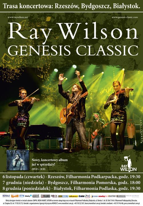 Ray Wilson Genesis Classic w Polsce!