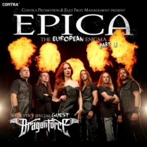 Dwa koncerty Epica + Dragonforce. Konkurs!