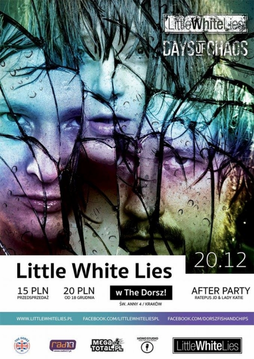 Little White Lies w The Dorsz, Kraków!
