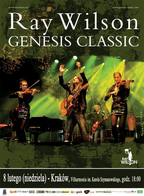 Ray Wilson Genesis Classic w Krakowie!