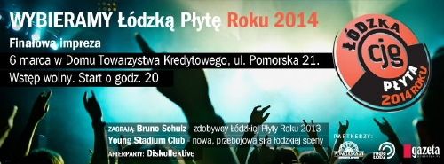 Łódzka Płyta Roku 2014 - Finał