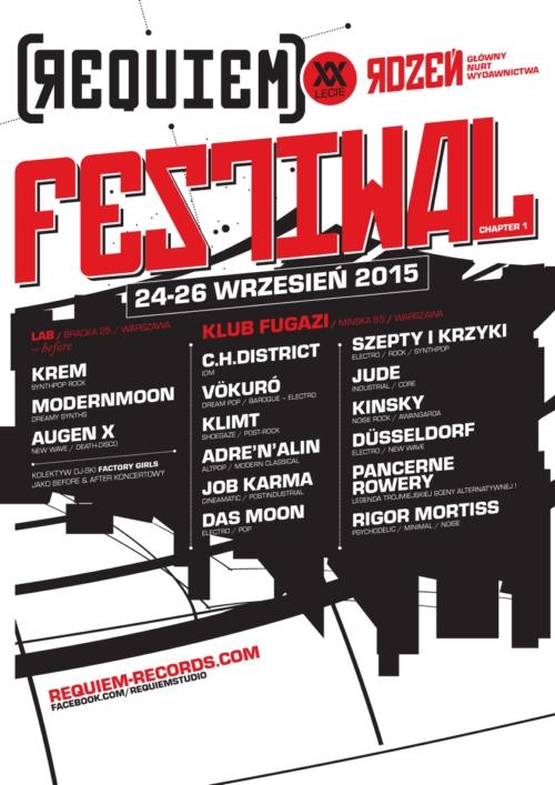 Requiem Festiwal edycja pierwsza! Mamy zaproszenia.