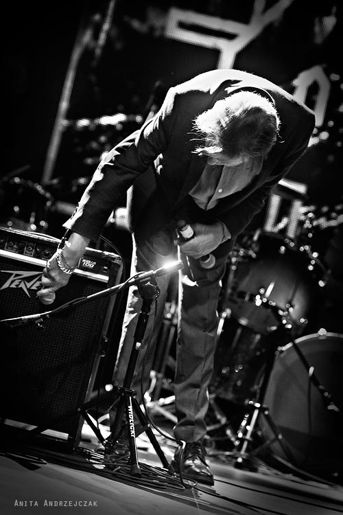 Mark E. Smith. The Fall. 28-08-2015. Łódź. DOMOFFON. Foto: Anita Andrzejczak