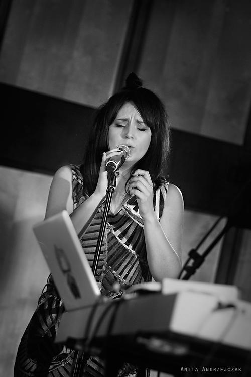 Kasia Katee Krenc. Zabrocki - Otwarta próba - live. Radio Łódź. Foto: Anita Andrzejczak