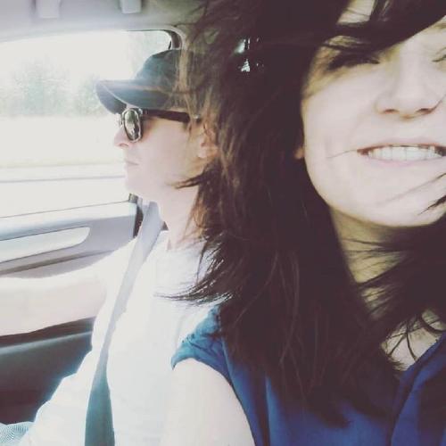 Kasia i Zbyszek. Selfie