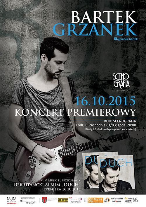 """Koncert premierowy albumu """"Duch"""". Scenografia. 16.10.2015"""