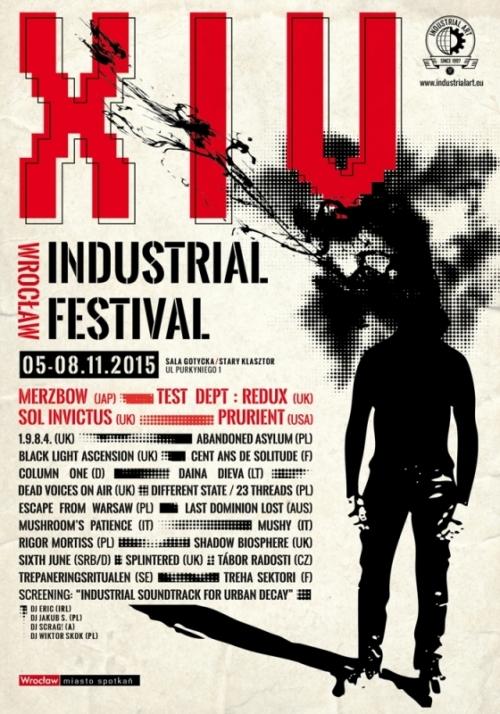 XIV Wrocław Industrial Festival: 5 - 8.11.2015