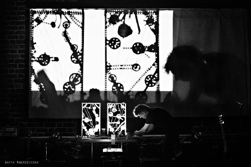 Energia Dźwięku. Pierre Bastien. Foto: Anita Andrzejczak