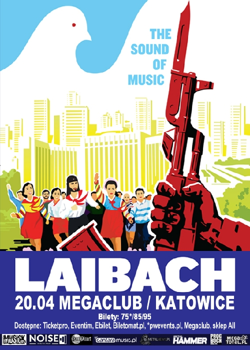 Laibach. The Sound Of Music 2016. Katowice. 20.04.