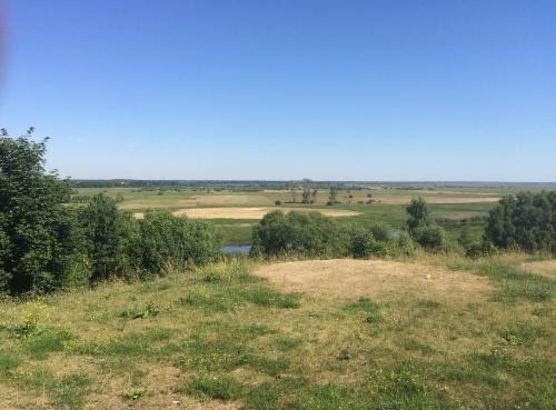 Widok na Biebrzański Park Narodowy