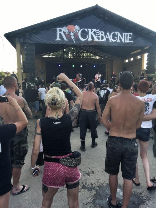 Festiwalowa scena Rock na Bagnie 2015