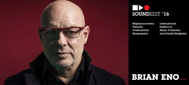 Przed Soundedit 2016: Why We Play - inspirujący głos Briana Eno na Sonar +D 2016.