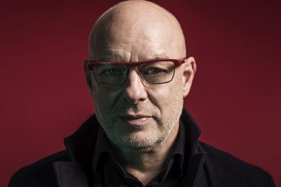 Brian Eno na Soundedit 2016 opowie o swojej instalacji dźwiękowej The Ship. Zdjęcie: Shamil Tanna