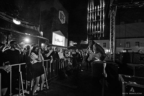 Zola Jesus na DOMOFFONIe 2016. Zdjęcie: Fotografie Anita Andrzejczak
